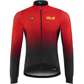 Alé Cycling PRS Dots DWR maglietta a maniche lunghe Uomo rosso/nero